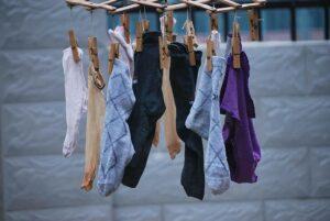 Wash Socks by Hand