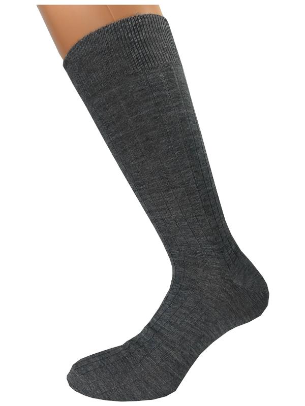 μάλλινες ανδρικές κάλτσες Rib 3